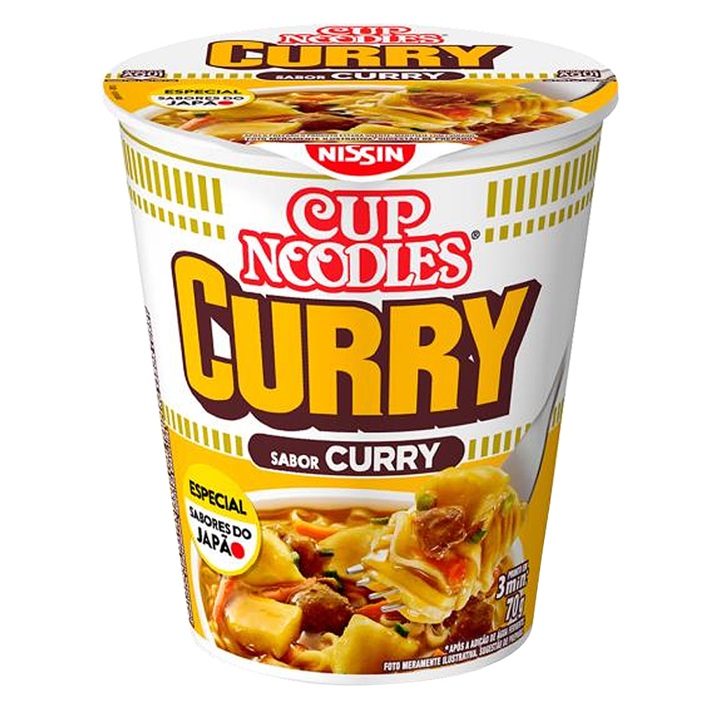 [19001] Cup Noodles Curry 70g